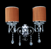 Wall Lamp - Crystal Wall Sconce - Aosta