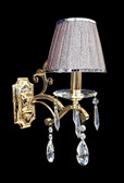 Wall Lamp - Crystal Wall Sconce - Isernia