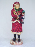 Mrs Santa Statue Christmas Decor Life Size 5FT