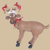 Funny Reindeer Standing on Crosslegs 2FT