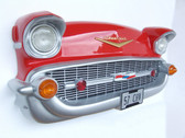 Chevy Front Wall Decor Red