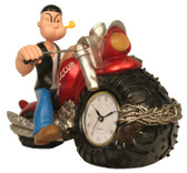 Popeye Clock Comic Chopper