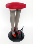 Lady Legs Barstool Red