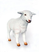 Lamb Baby Statue Life Size