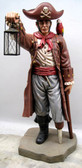 Pirate with Lantern Life Size Statue
