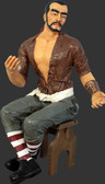 Sitting Pirate Carlos Magic Life Size Statue 4.5FT