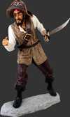 Pirate Captain One Eye on Base 6FT