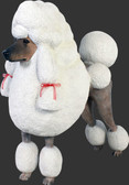 Life Size Poodle Statue - 3 ft.
