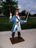 Life Size Caribbean Pirate Statue 6 FT