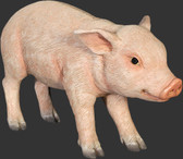 Baby Standing Pig Statue