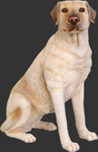 Dog Statue - Labrador - Sitting