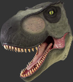 Dinosaur T-Rex Head Wall Mount Large Statue