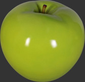 Apple Sculpture - Green - Medium