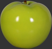 Apple Sculpture - Green - Small