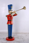 Toy Soldier Statue with Trumpet 6FT