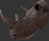 Rhino Head Wall Mount