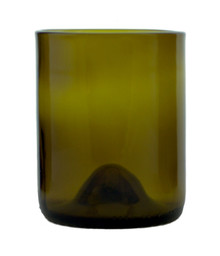 Topaz Tumblers Made From Chardonnay Wine Bottles  - set of 4