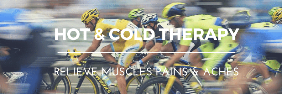 Heal sport injuries with hot & cold therapy