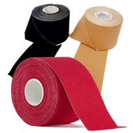 Donjoy Kinesiology Tape 5cm x 5M  - available in 5 different colours - flesh, black, blue, red and pink.
