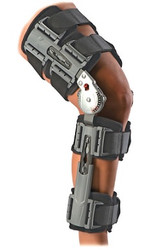 DonJoy X-Act ROM Post-Op Knee Brace - ideal for use after knee ligament and cartilage surgery such as ACL, MCL, PCL & LCL