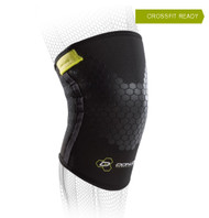DonJoy Performance Anaform Power Knee Sleeve provides mid-level knee joint support.