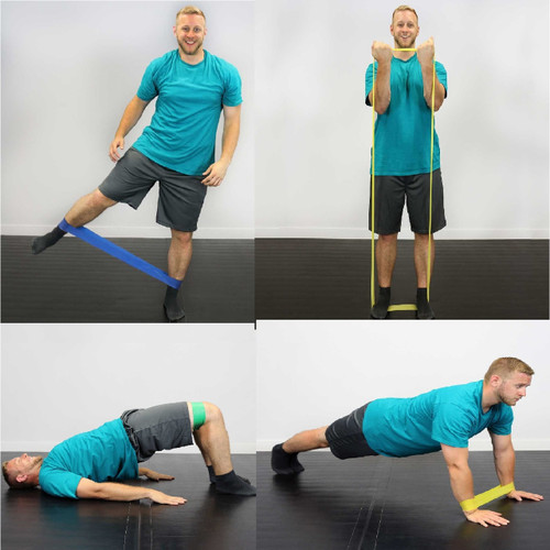 Cando Resistance Band Exercise Loops - ideal for stretching exercises