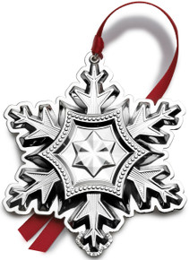 Gorham Annual Sterling Snowflake Ornament 2014