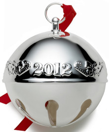 Wallace Annual Sleigh Bell Ornament 2012
