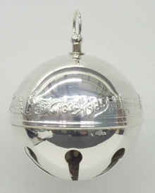 Wallace Annual Sleigh Bell Ornament 1985