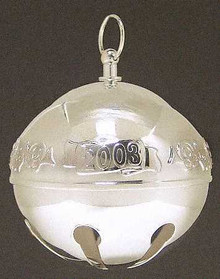 Wallace Annual Sleigh Bell Ornament 2003