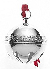 Wallace Annual Sleigh Bell Ornament 2004