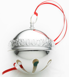 Wallace Annual Sleigh Bell Ornament 2007