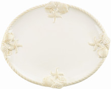 "Gorham Merry Go Round She Sells Seashells 15"" oval platter"