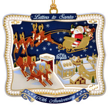 ChemArt Letter to Santa 100th Anniversary Commemorative Ornament