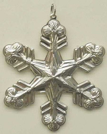 Gorham Annual Snowflake Ornament 1998