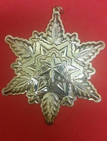 Gorham Annual Snowflake Ornament 1999