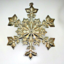Gorham Annual Snowflake Ornament 2000