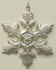 Gorham Annual Snowflake Ornament 1997