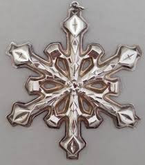 Gorham Annual Snowflake Ornament 1980