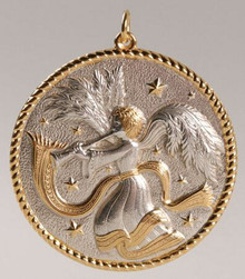 Buccellati Annual Ornament 2004 - Herald Angel