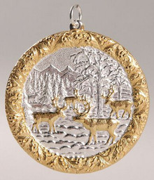 Buccellati Annual Ornament 2005 - Reindeer Gathering
