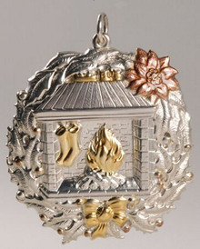 Buccellati Annual Ornament 1994 - Fireplace