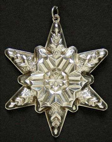 Gorham Annual Snowflake Ornament 1970
