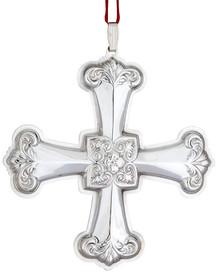 Reed & Barton Annual Cross Ornament 2012