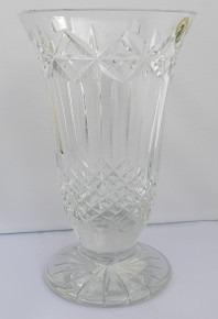 "Waterford Starburst Blank Panel 8 1/2"" Vase"