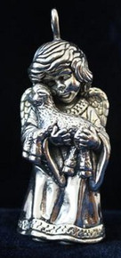 Cazenovia Angel with Lamb Ornament