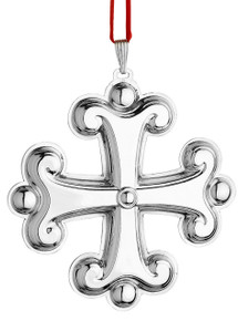 Reed & Barton Annual Cross Ornament 2015 - Sterling