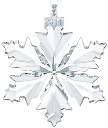 Swarovski Annual Large Snowflake Ornament 2014