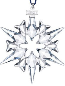 Swarovski Annual Large Snowflake Ornament 2007