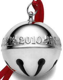Wallace Annual Sleigh Bell Ornament 2010